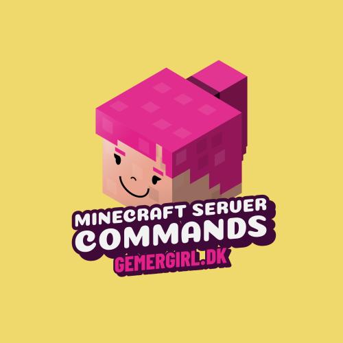 Minecraft server kommandoer